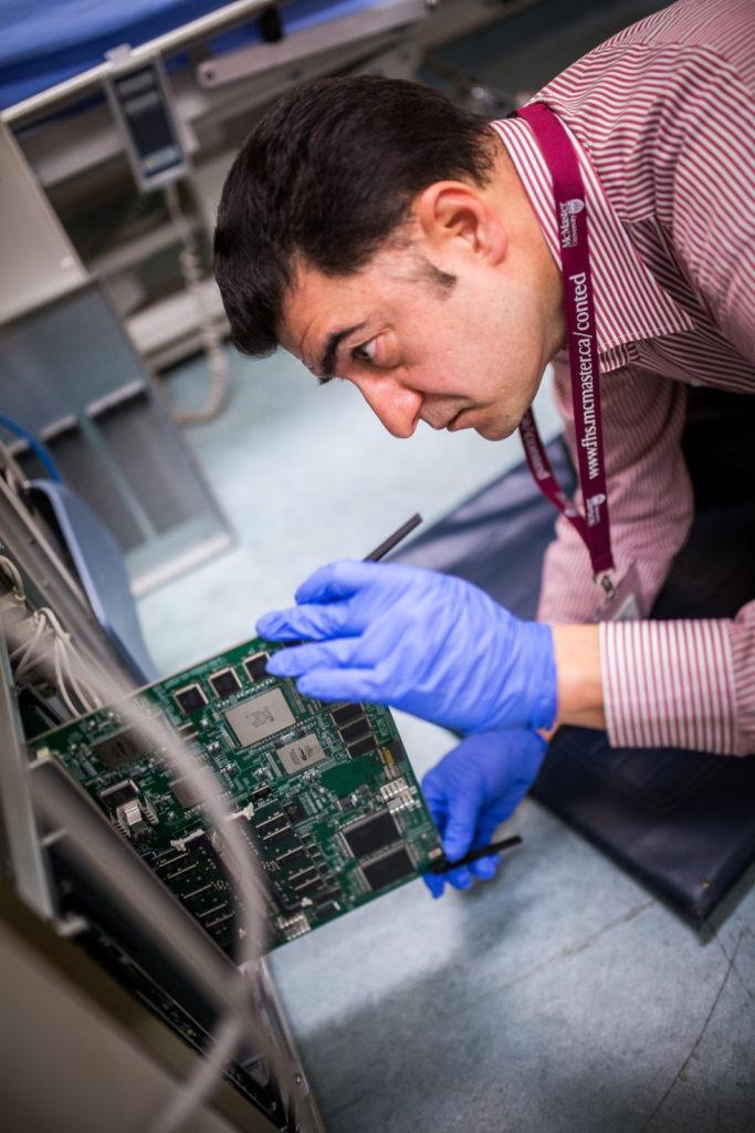 Checking an ultrasound power board