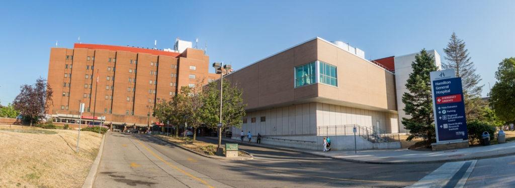 Hamilton General Hospital exterior