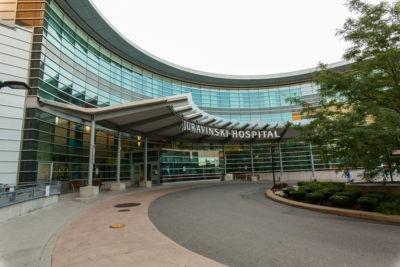 Juravinski Hospital and Cancer Centre exterior