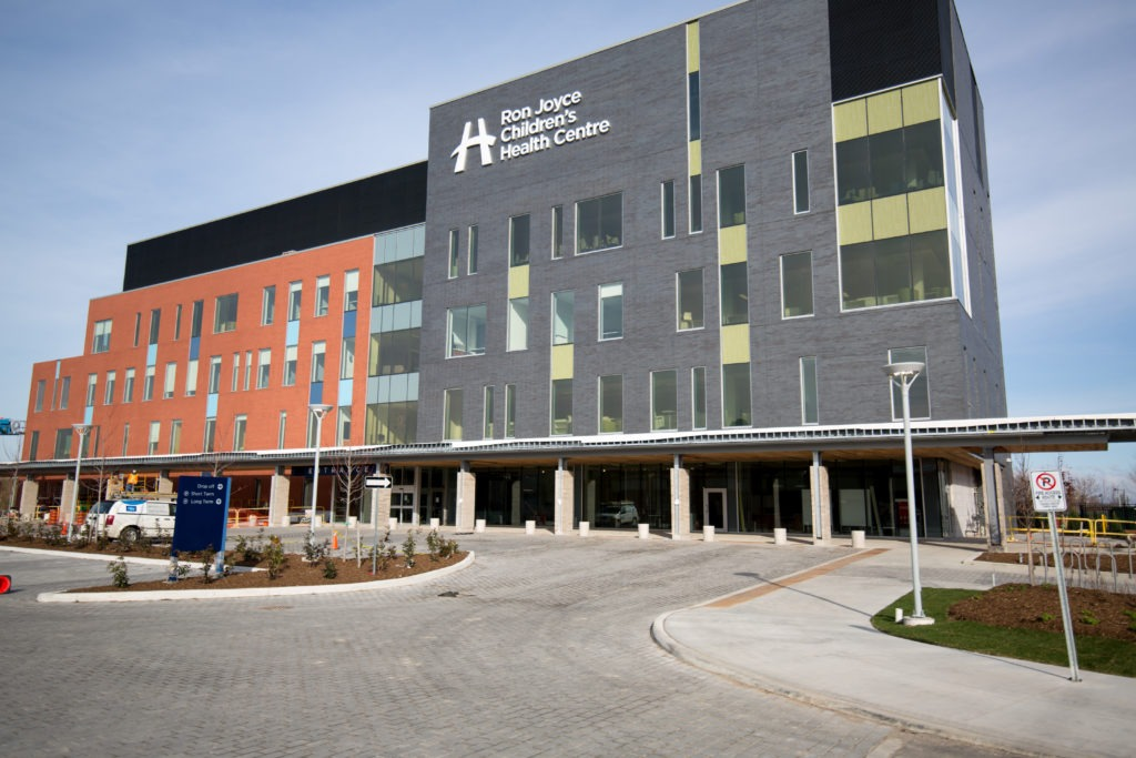 Ron Joyce Children's Health Centre exterior