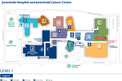 Juravinski Cancer Centre and Juravinski Hospital