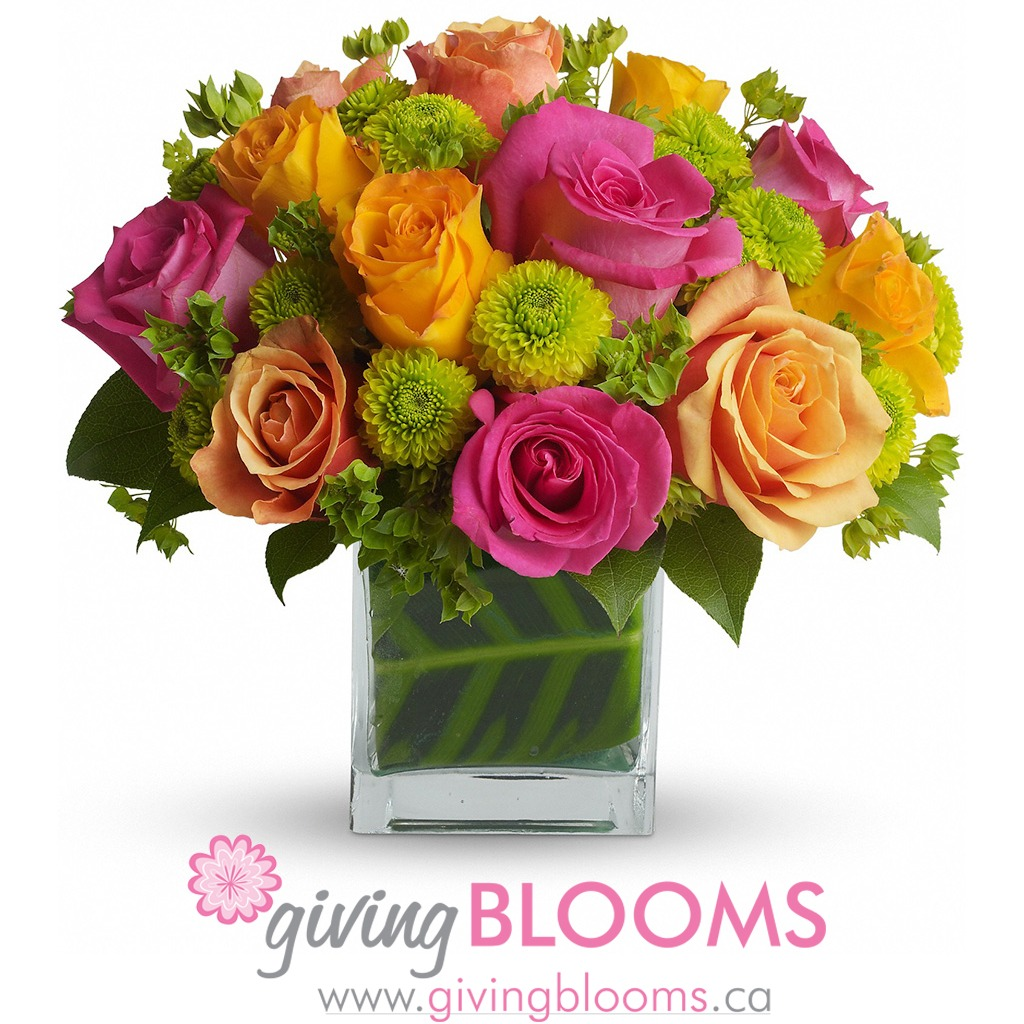 Giving Blooms logo
