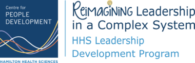 Reimagining Leadership in a Complex System HHS Leadership Development Program