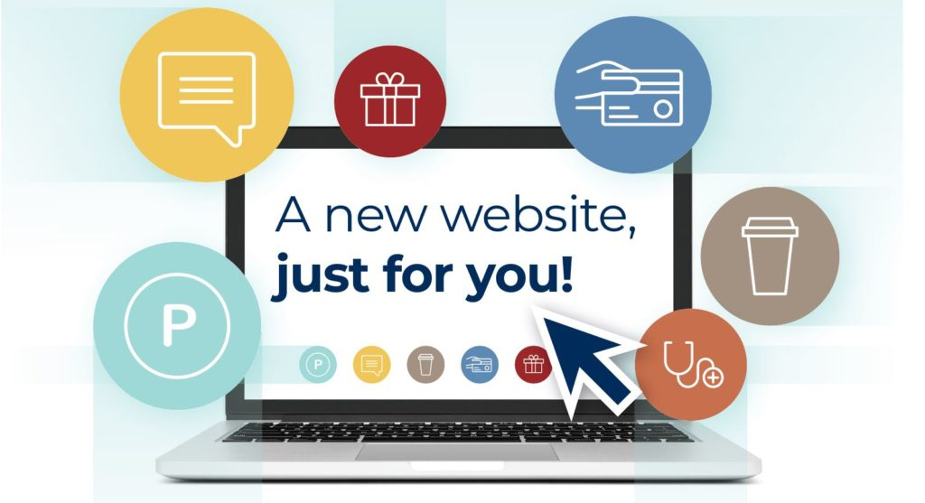 A new website, just for you!
