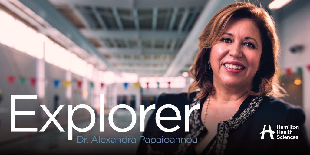 Explorer Dr. Alexandra Papaioannou