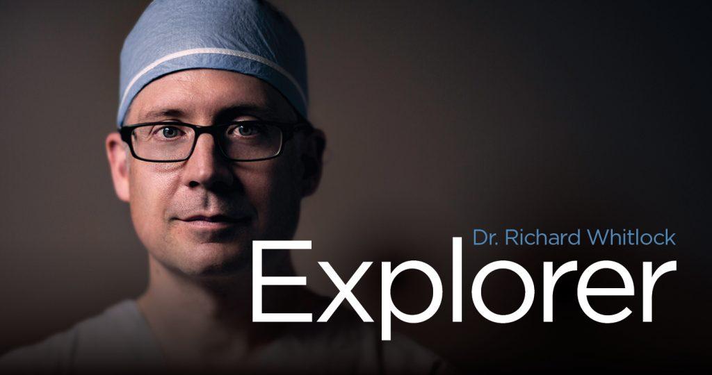 Dr. Richard Whitlock, Explorer