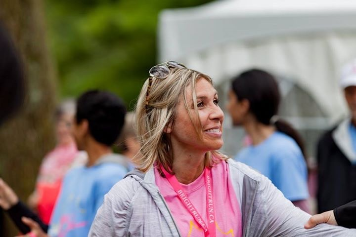 Donna Stampone at the BRIGHT RUN