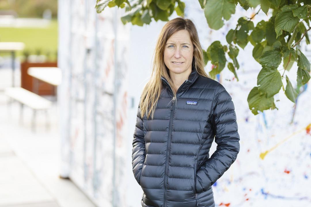 Portrait of Shelley Wikahymer outside wearing a jacket