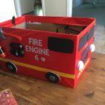 firetruck box costume