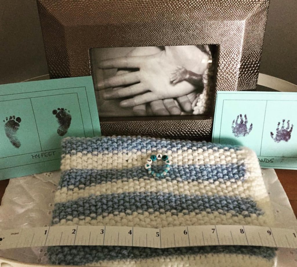 infant loss memory box items