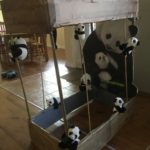 panda cage costume