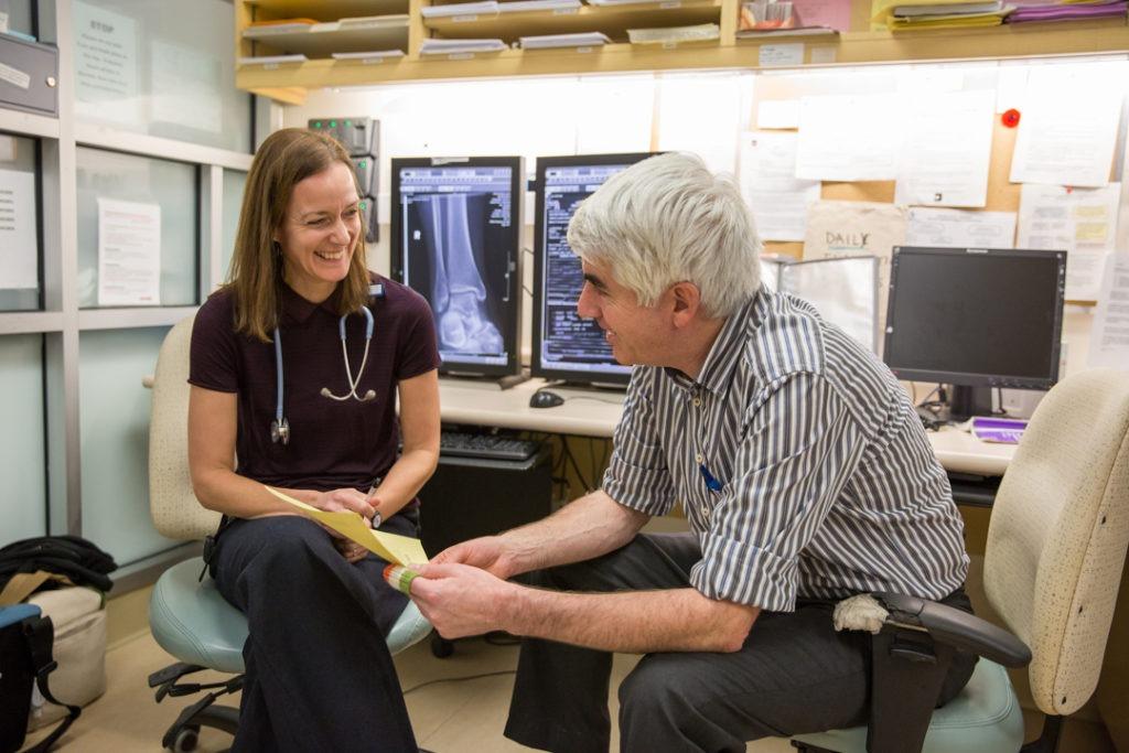 Drs. Kersten de Wit and Clive Kearon