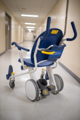 New patient transport chair