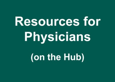 Resources for Physicians