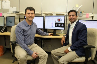 Two neurologists in the Pediatric Epilepsy Clinic at McMaster Children's Hospital advocated for special software to improve accuracy of seizure location in a patient's brain as part of a patient's pre-surgical care.