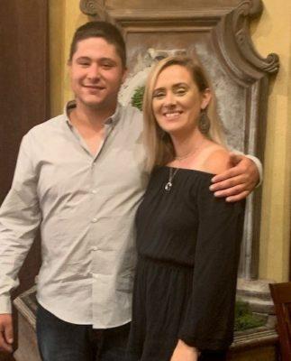 Scott Monds with his donor, Danielle Bean