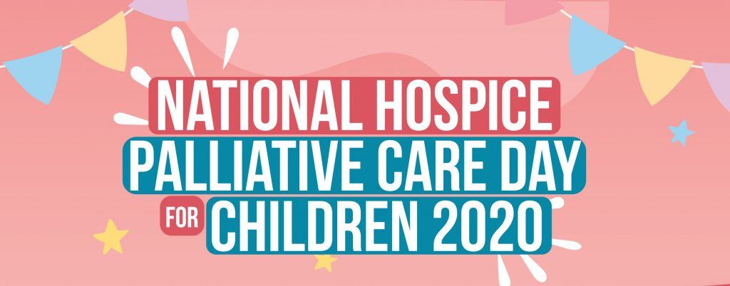 National hospice palliative care day for children poster