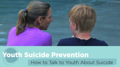 How to talk to youth about suicide