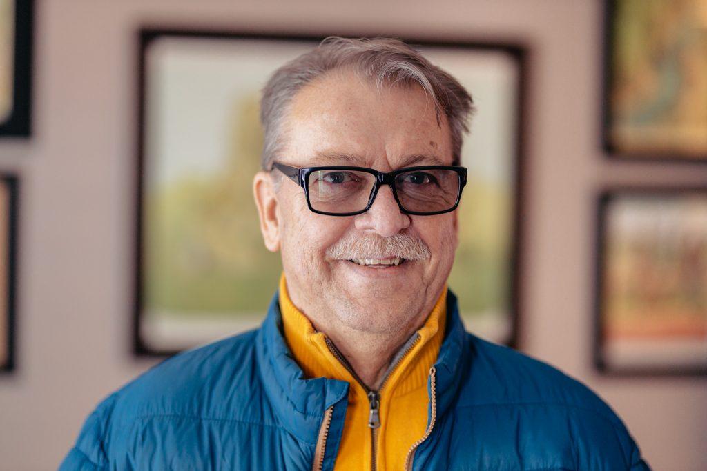 Clinical trial participant Louie Trkulja