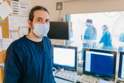 HHS neurologist Dr. Aristeidis Katsanos is principal investigator for the DETECT clinical trial