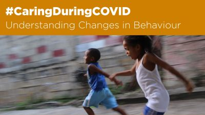 Understanding changes in behaviour
