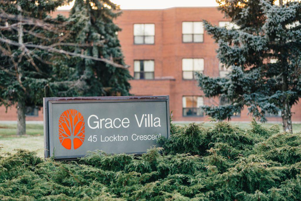 Grace Villa exterior sign