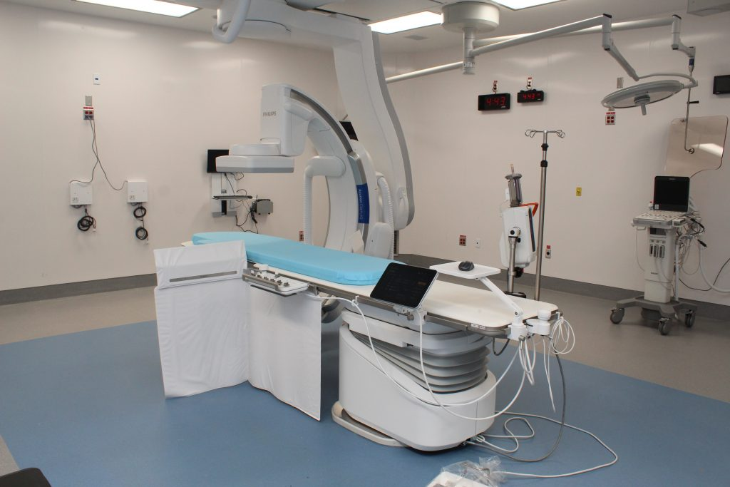 Hybrid Operating Suite at Hamilton General Hospital