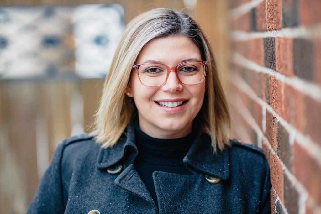 Virtual care manager Kara Langdon, smiling