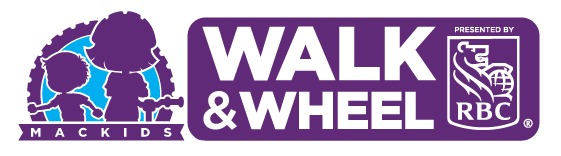 The MacKids Walk & Wheel logo