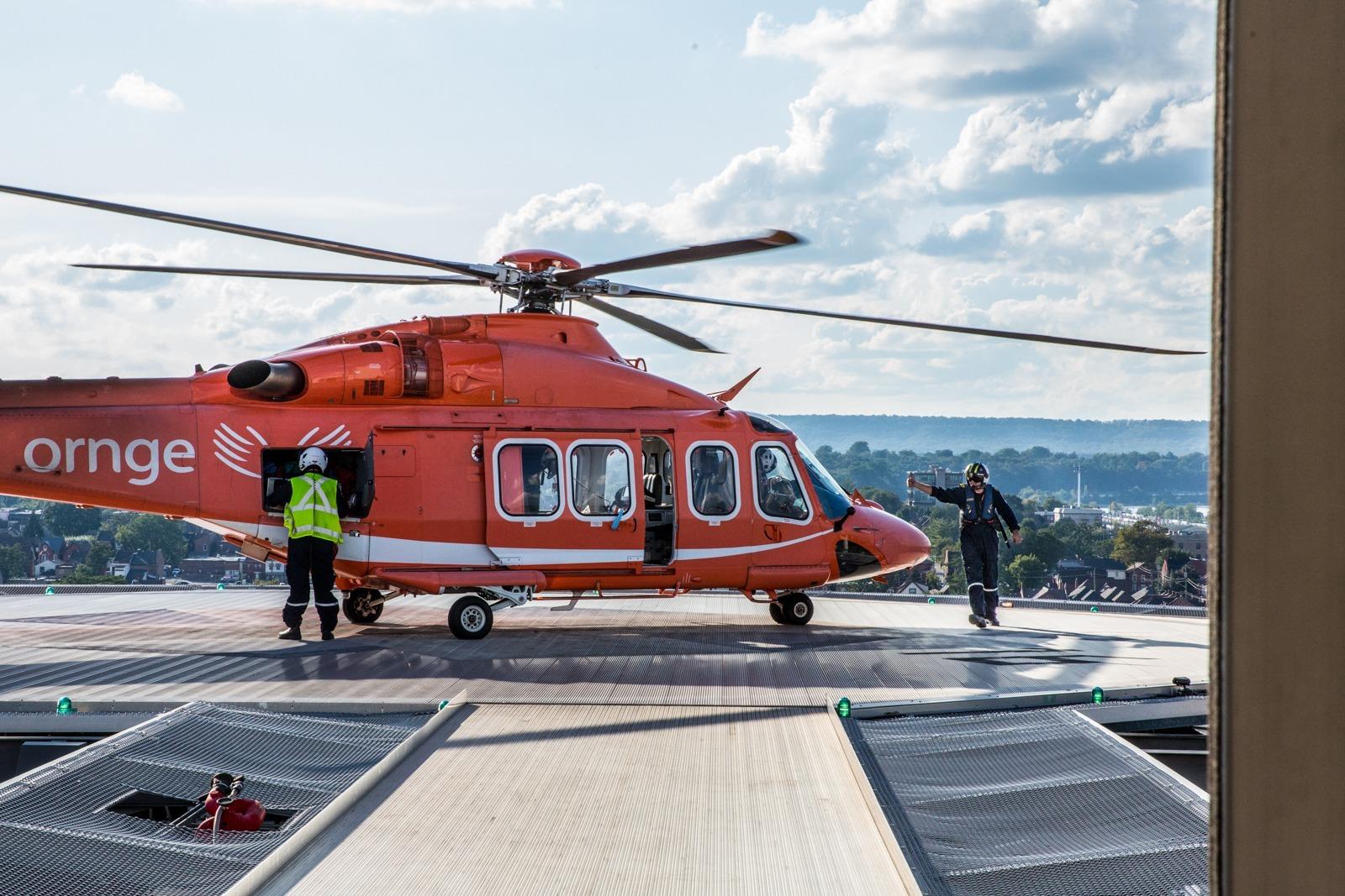 ORNGE air ambulance