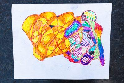 scribbles artwork