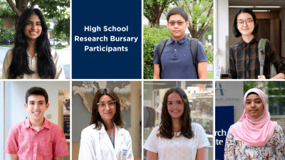 Headshots of students that participated in the research bursary program