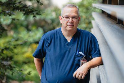 45 year employee John Sheppard
