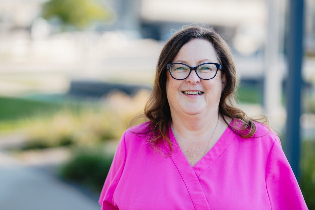 45-year employee Lori Pokoradi
