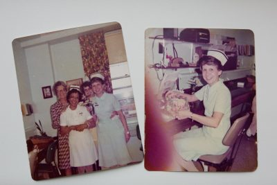 Early photos of Barb Linkert