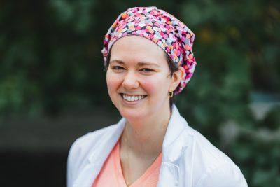 Nurse clinician Stephanie Furtado