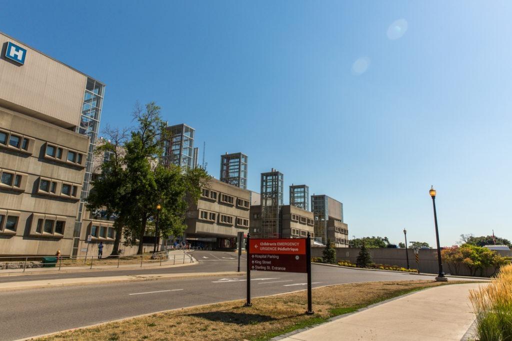 McMaster Children's Hospital emergency department